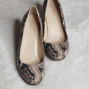 🌻Cole Haan shoes | snake print Pumps sz 5.5